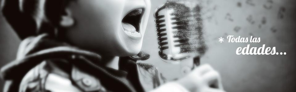 Clases de canto para niños