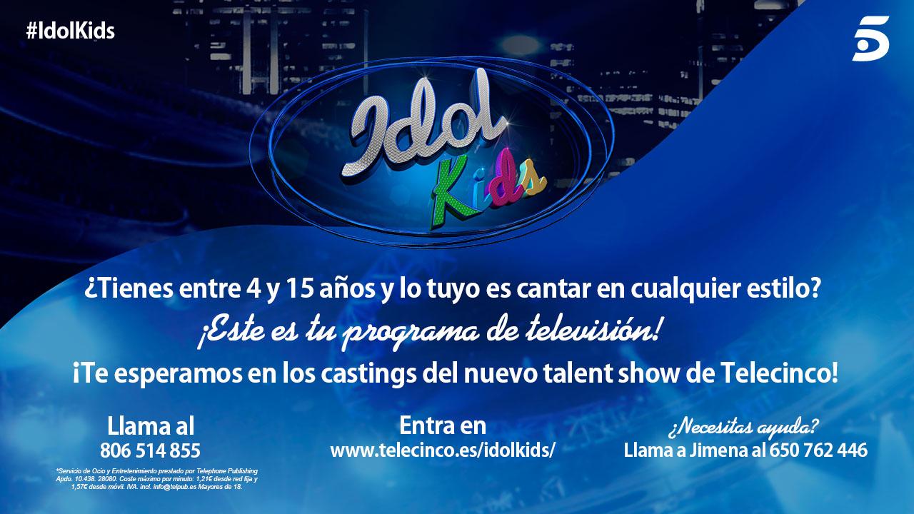 CAsting idol kids tele 5