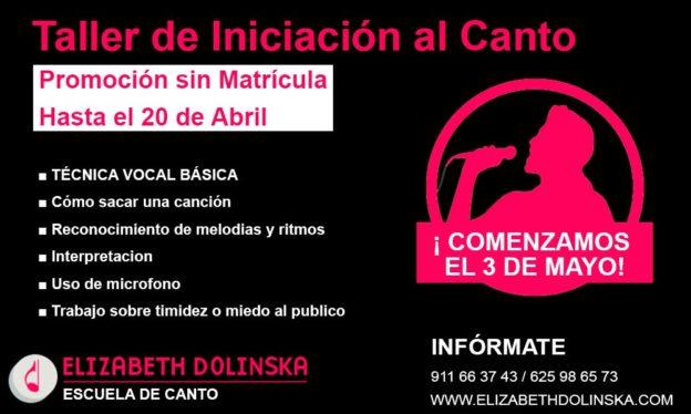taller iniciacion canto mayo 2019