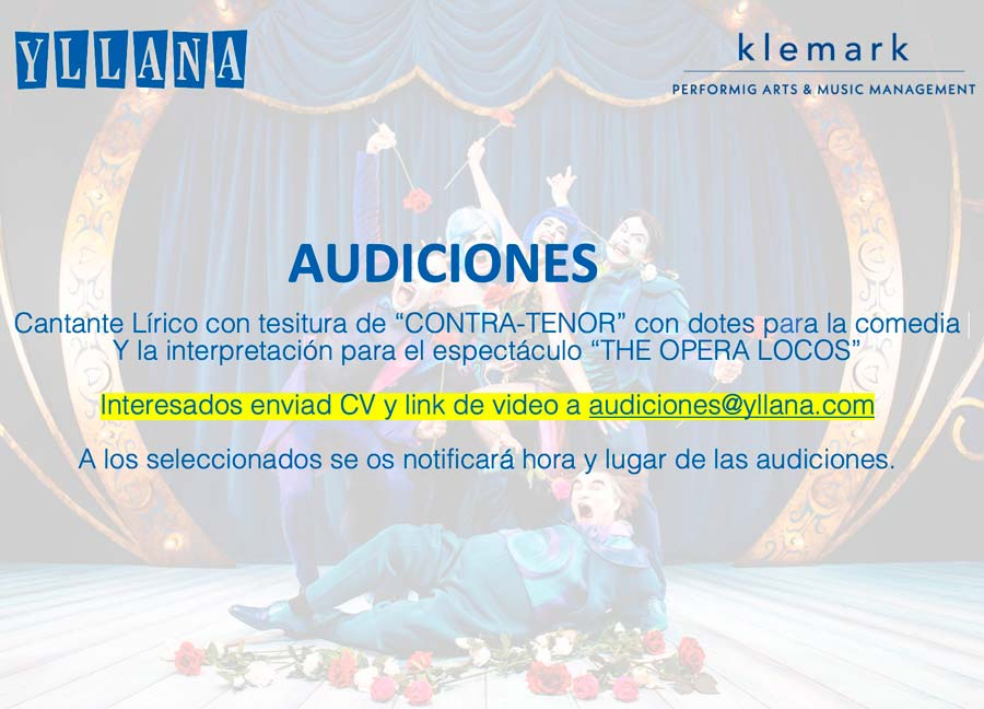 Audiciones The Opera Locos