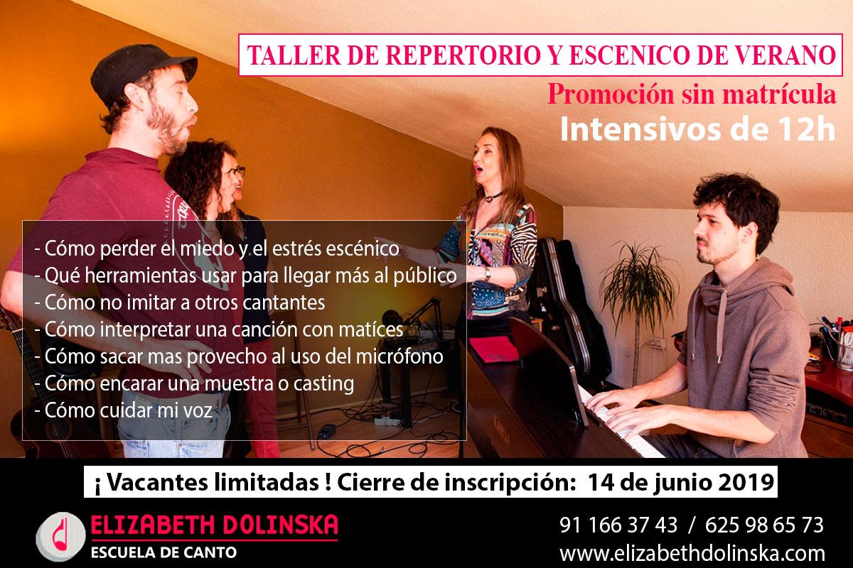taller escenico madrid verano 2019