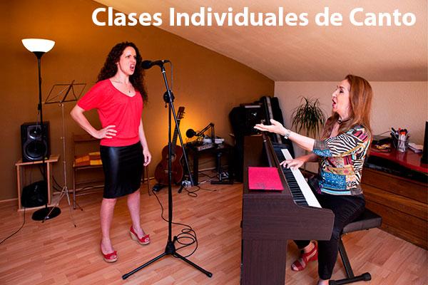 Clases Individuales de Canto en Madrid