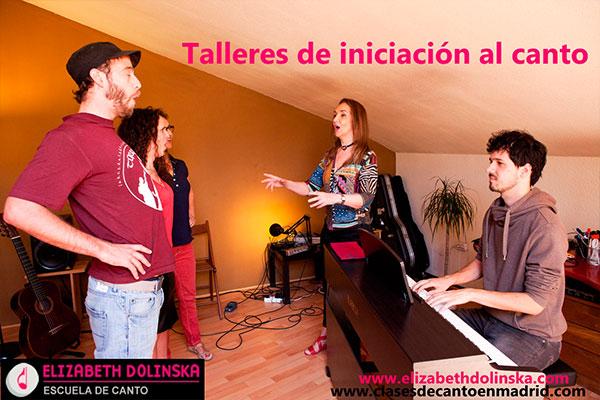 Escuela de Canto en Madrid Iniciación