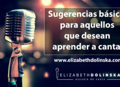 sugerencias para aprender a cantar