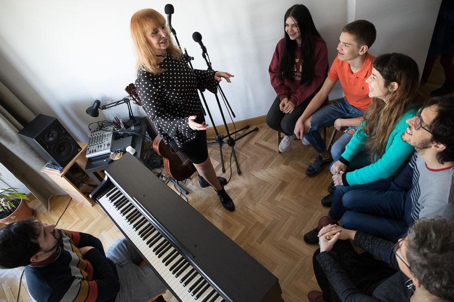 Clases de Canto para principiantes en Madrid
